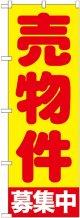 〔G〕 売物件募集中 黄 のぼり