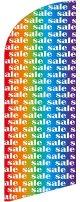 sale(レインボー) スウィングバナー(W960×H3540mm) 1枚(ポール1本付)
