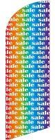 sale(レインボー) スウィングバナー(W860×H3540mm) 1枚(ポール1本付)