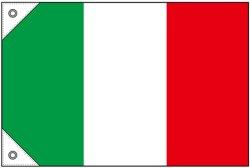 画像1: 世界の国旗  (販促用) イタリア(ミニ・小・大)
