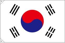 画像2: 世界の国旗 (販促用)  韓国 (ミニ・小・大)