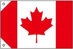 画像1: 世界の国旗 (販促用)  カナダ (ミニ・小・大)