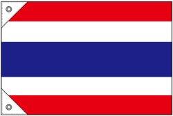 画像1: 世界の国旗 (販促用)  タイ (ミニ・小・大)