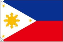 画像2: 世界の国旗 (販促用)  フィリピン (ミニ・小・大)
