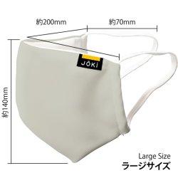 画像1: マスク  グレー  ポリエステル製 ラージサイズ  洗濯可能